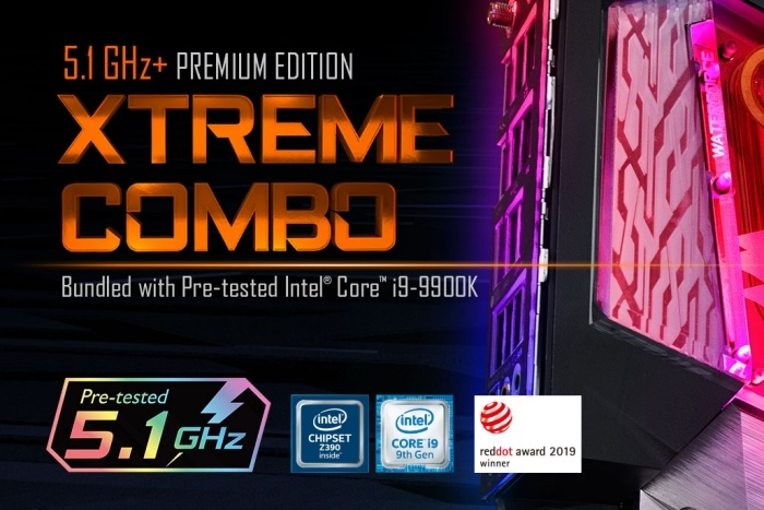 GIGABYTE annuncia il bundle Z390 AORUS XTREME WATERFORCE 5G 1