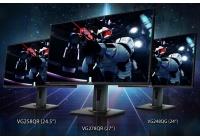 Elevato refresh rate, tempo di risposta fulmineo e cuore gaming per i tre nuovi monitor FHD compatibili G-SYNC.