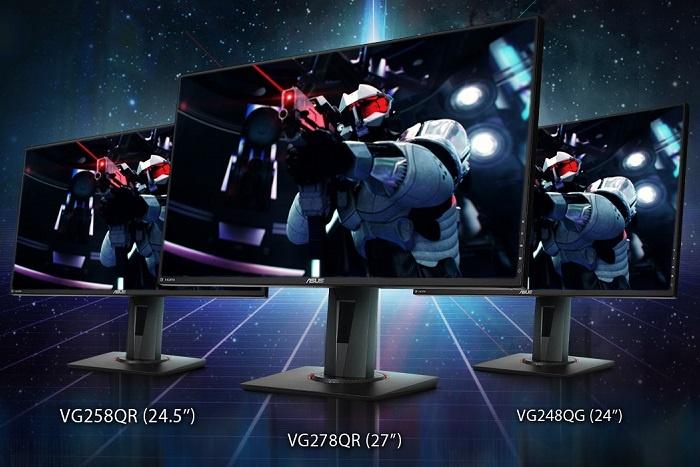 ASUS rilascia i VG248QG, VG258QR e VG278QR 1