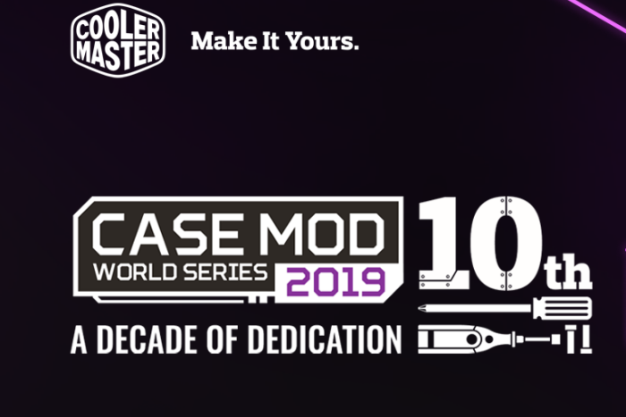 Cooler Master lancia le Case Mod World Series 2019 1