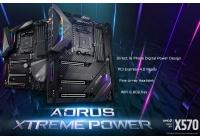 Svelate le AORUS X570 XTREME e X570 MASTER, pronte per spremere a fondo le CPU AMD Ryzen 3000.