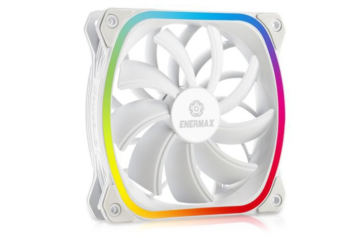 ENERMAX introduce le SquA RGB White 2