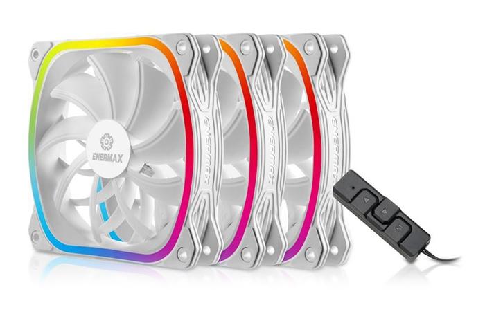 ENERMAX introduce le SquA RGB White 1
