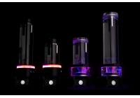 Le nuove combo pompa e tanica hanno più porte ed una sofisticata illuminazione D-RGB.