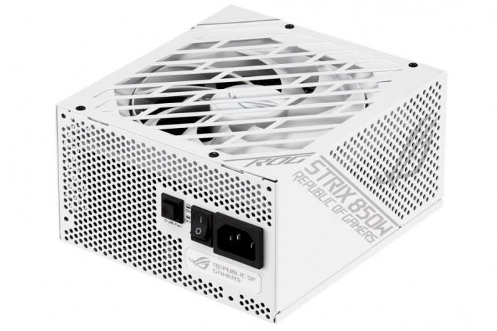 ASUS svela il ROG Strix 850W White Edition 1