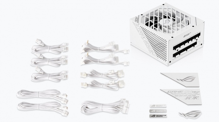 ASUS svela il ROG Strix 850W White Edition 4