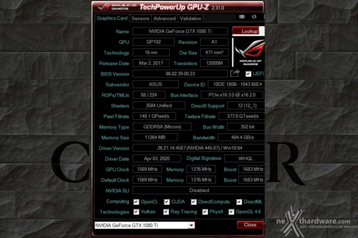 TechPowerUp rende disponibile GPU-Z 2.31.0 1