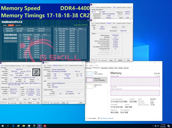 Nuovi kit di DDR4 e nuovi WR per G.SKILL 3