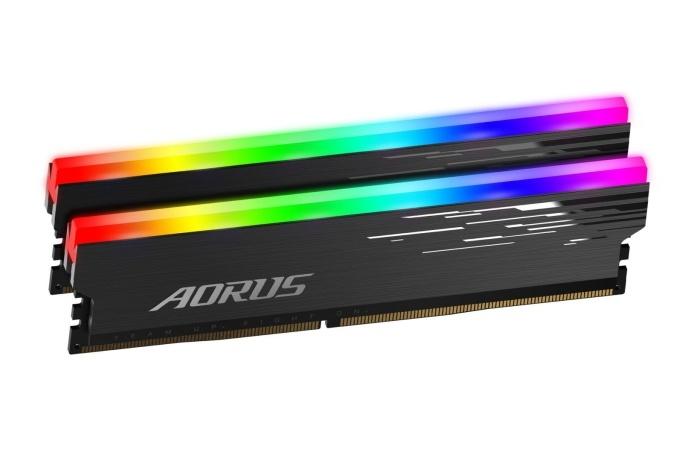 In arrivo le memorie AORUS RGB 4400MHz 2