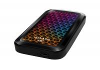 Prestazioni elevate ed illuminazione RGB per il nuovo SSD esterno che strizza l'occhio ai videogiocatori.