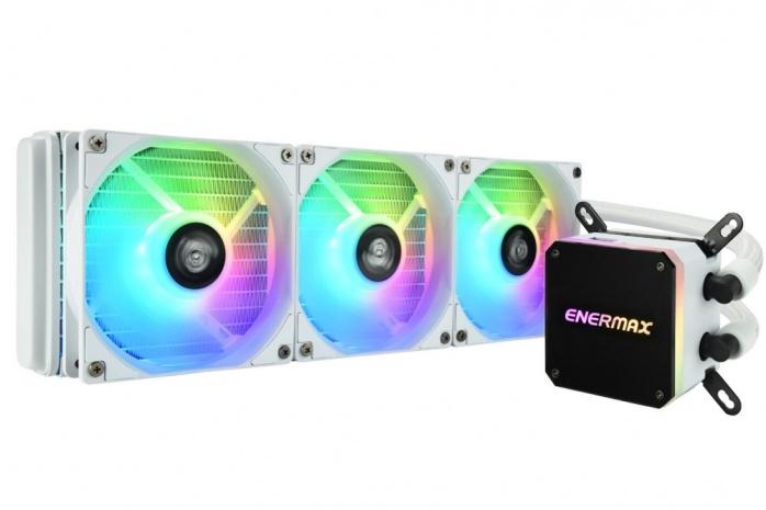 ENERMAX presenta il LIQMAX III 360 ARGB White 3