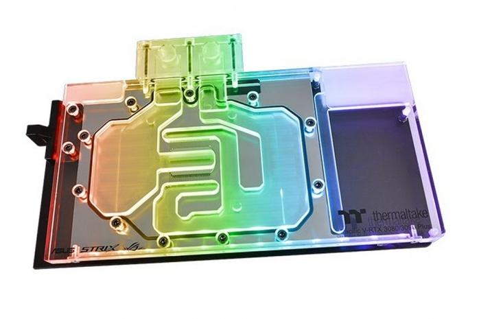 Thermaltake liquida le ROG STRIX RTX 3070, 3080 e 3090 1