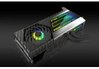 PCB fortemente personalizzato, raffreddamento ibrido e boost clock di 2666MHz.