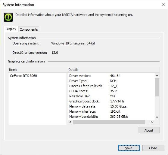 Nuovi driver GeForce e Resizable BAR per NVIDIA 3