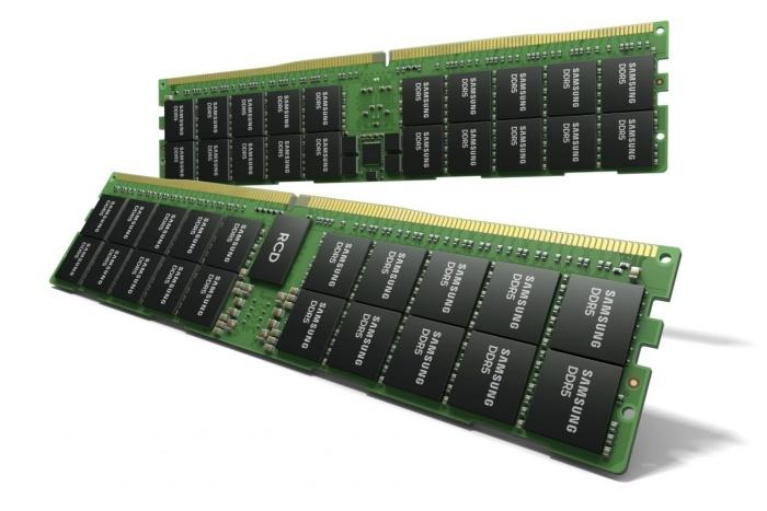 Samsung annuncia i moduli DDR5 da 512GB 1