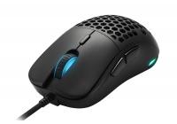 Scocca a nido d'ape e sensore ottico PixArt PMW3360 per il nuovo mouse ultraleggero del produttore tedesco.