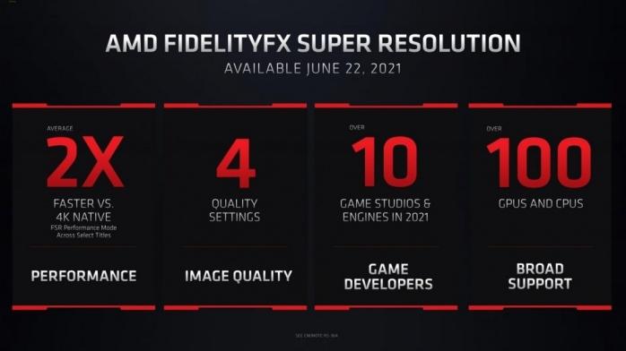 AMD FidelityFX Super Resolution debutterà il 22 giugno 4
