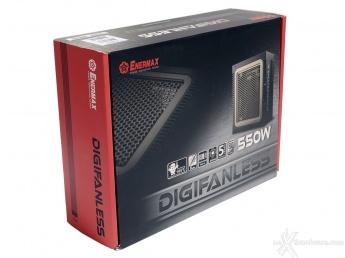 ENERMAX Digifanless 550W 1. Confezione & Specifiche Tecniche 1