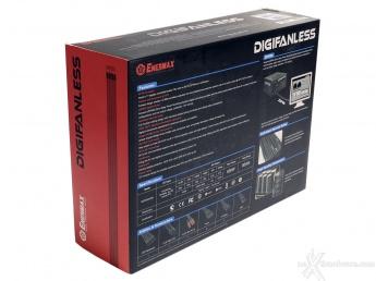 ENERMAX Digifanless 550W 1. Confezione & Specifiche Tecniche 2