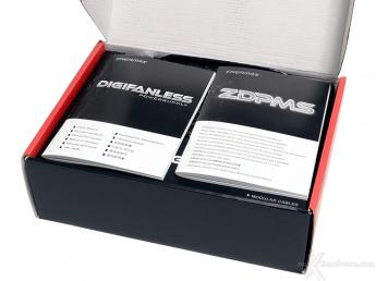 ENERMAX Digifanless 550W 1. Confezione & Specifiche Tecniche 3