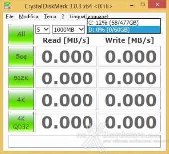 Corsair Flash Voyager Slider X2 64GB 9. CrystalDiskMark 2