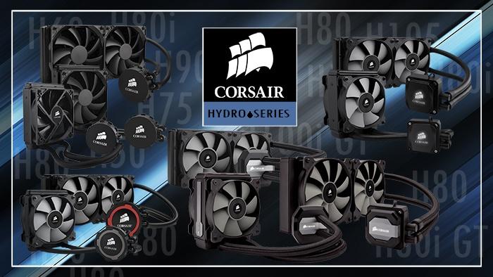 Corsair H80i GT & H100i GTX 1