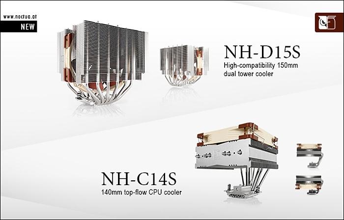 Noctua NH-D15S & NH-C14S 1
