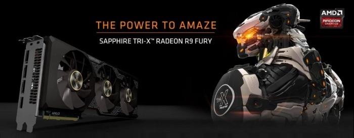 SAPPHIRE Radeon R9 Fury Tri-X OC 1
