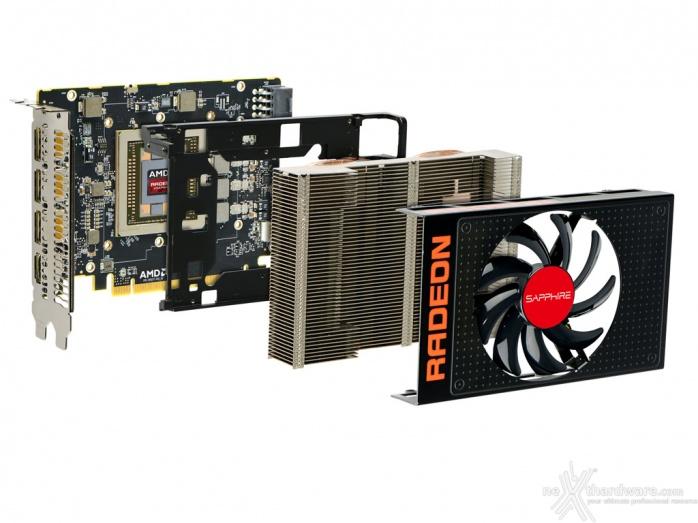 AMD Radeon R9 NANO 3. Vista da Vicino - Design e raffreddamento 8