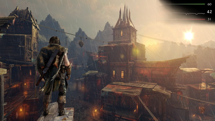 AMD Radeon R9 NANO 9.  Middle-Earth: Shadow of Mordor & The Witcher 3: Wild Hunt 2