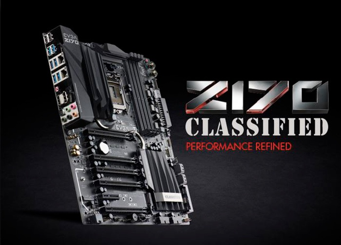 EVGA Z170 Classified 4-Way 1