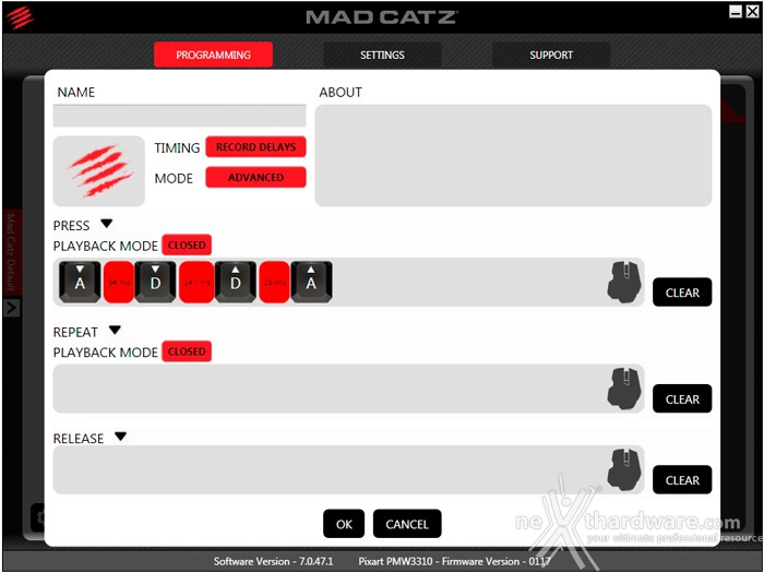 mad catz r a t pro s 4 software recensione. Black Bedroom Furniture Sets. Home Design Ideas