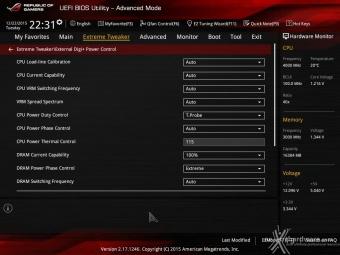 ASUS MAXIMUS VIII IMPACT 8. UEFI BIOS - Extreme Tweaker 8
