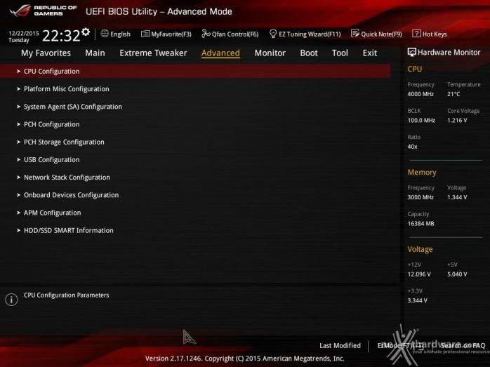 ASUS MAXIMUS VIII IMPACT 7. UEFI BIOS  -  Impostazioni generali 6
