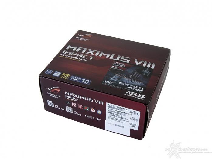 ASUS MAXIMUS VIII IMPACT 2. Packaging & Bundle 1
