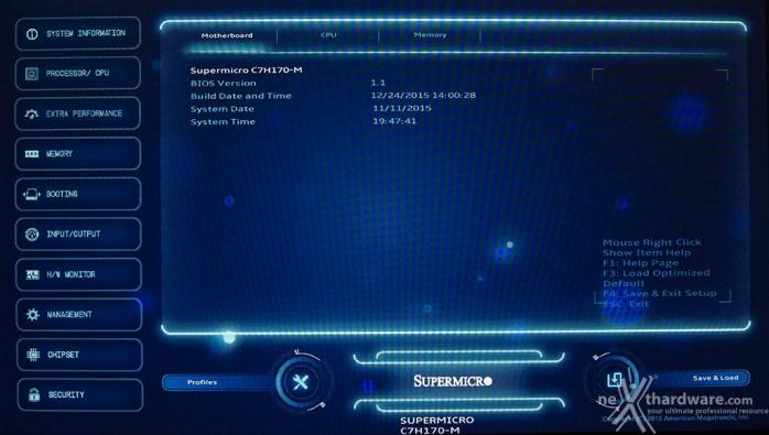 Supermicro C7H170-M 7. UEFI BIOS - Prima parte 1