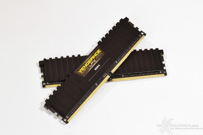Corsair Vengeance DDR4 LPX 2666MHz 16GB x 2 2. Presentazione delle memorie 1