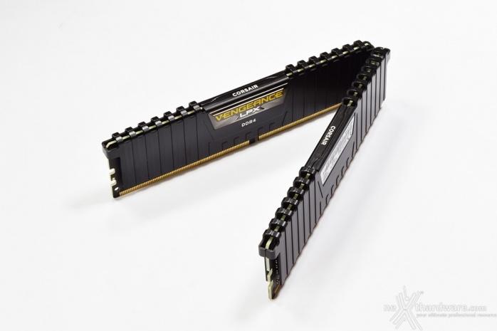 Corsair Vengeance DDR4 LPX 2666MHz 16GB x 2 2. Presentazione delle memorie 4