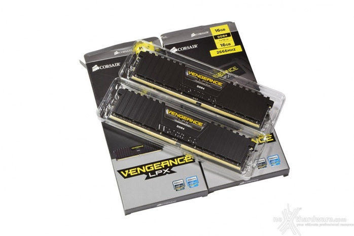 Corsair Vengeance DDR4 LPX 2666MHz 16GB x 2 1. Packaging & Bundle 3
