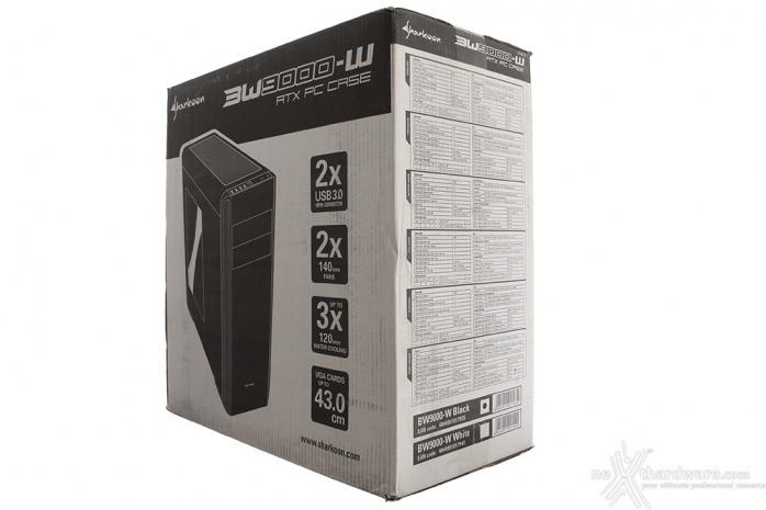 Sharkoon BW9000-W 1. Packaging & Bundle 1