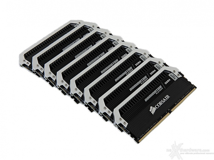 Corsair Dominator Platinum DDR4 3200MHz 64GB 3. Presentazione delle memorie 1