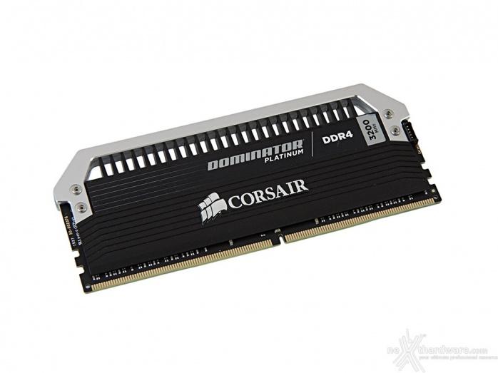 Corsair Dominator Platinum DDR4 3200MHz 64GB 3. Presentazione delle memorie 4
