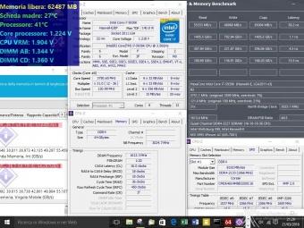 Corsair Dominator Platinum DDR4 3200MHz 64GB 6. Test di stabilità 6