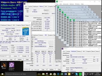 Corsair Dominator Platinum DDR4 3200MHz 64GB 6. Test di stabilità 3