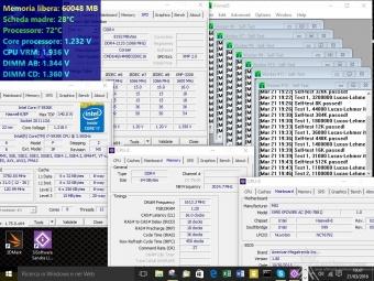 Corsair Dominator Platinum DDR4 3200MHz 64GB 6. Test di stabilità 1