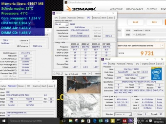 Corsair Dominator Platinum DDR4 3200MHz 64GB 9. Overclock 2