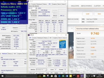 Corsair Dominator Platinum DDR4 3200MHz 64GB 9. Overclock 4