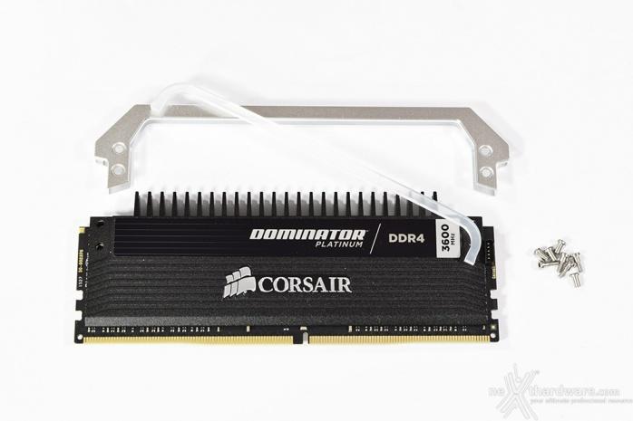 Corsair Dominator Platinum DDR4 3600MHz 16GB 3. Presentazione delle memorie 4
