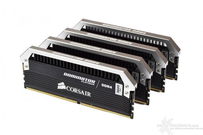 Corsair Dominator Platinum DDR4 3600MHz 16GB 4. Specifiche tecniche e SPD 1