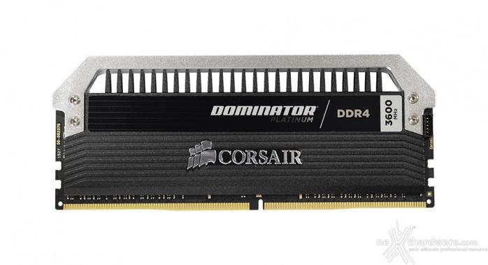 Corsair Dominator Platinum DDR4 3600MHz 16GB 3. Presentazione delle memorie 2